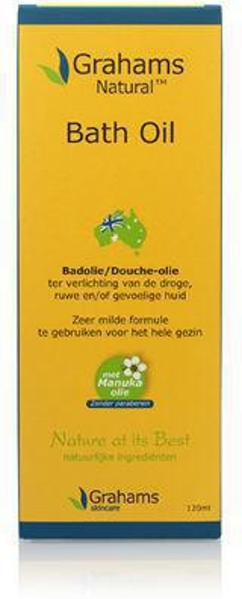 Grahams Olie Huid & Bad - 120ml