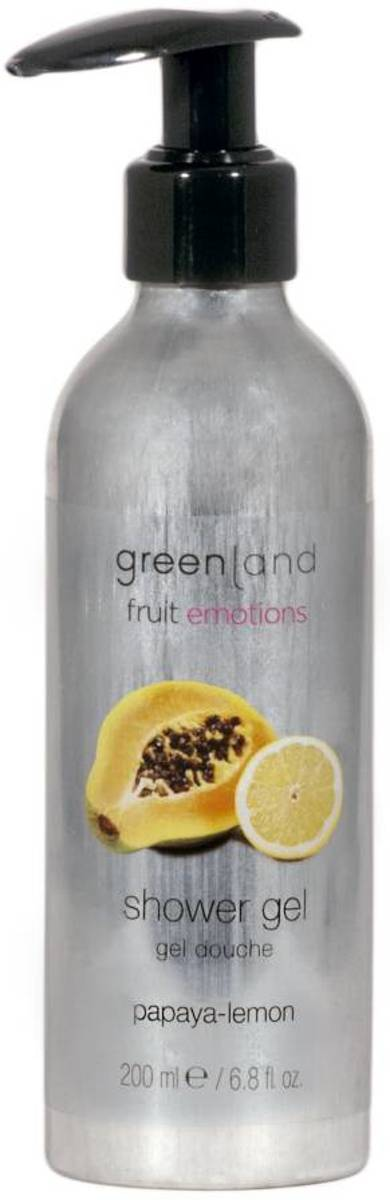 Greenland Fruit Emotions Papaya-Lemon - 200 ml - Douchegel