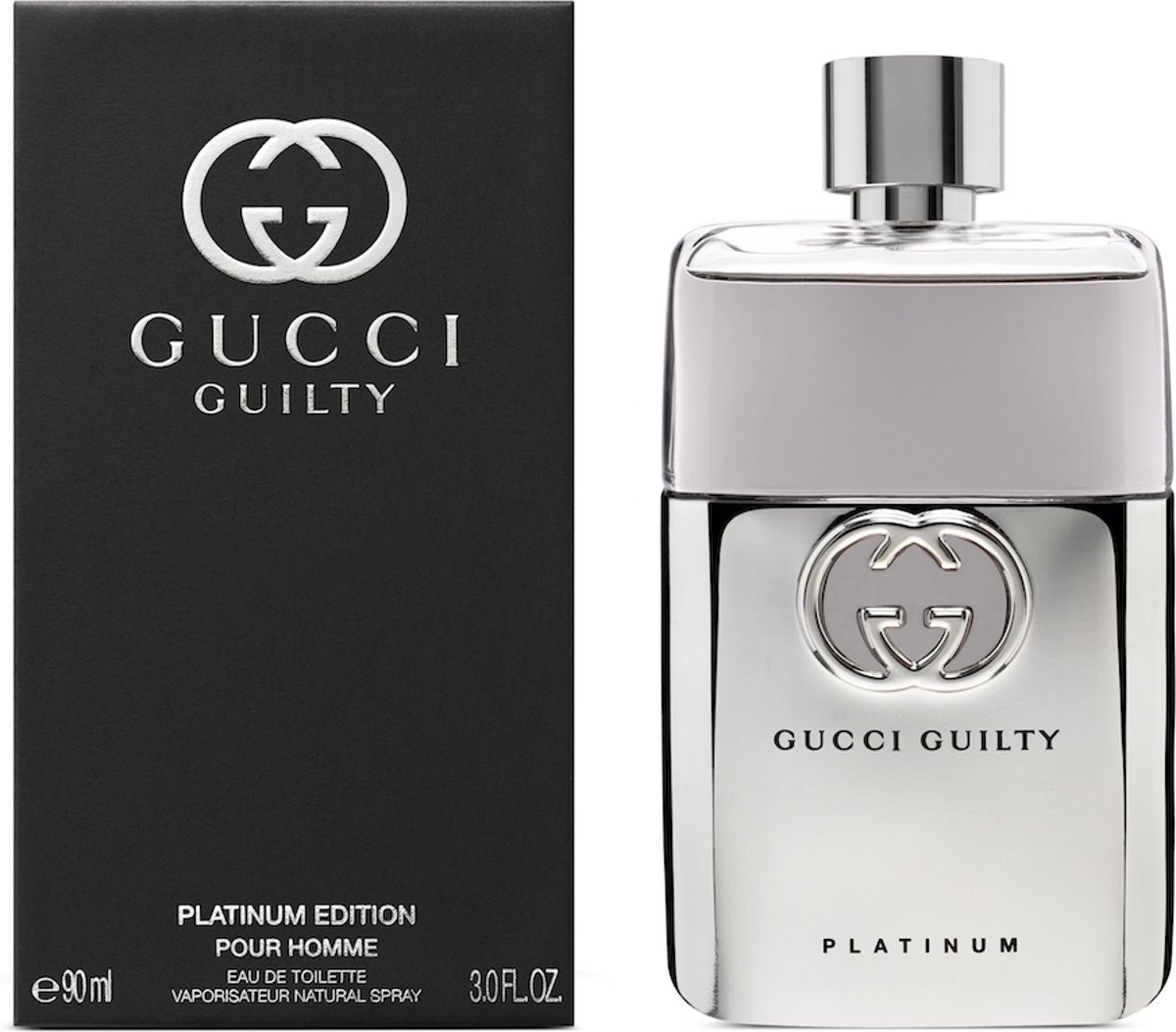 Gucci Guilty Platinum M - 90ml - Eau de toilette