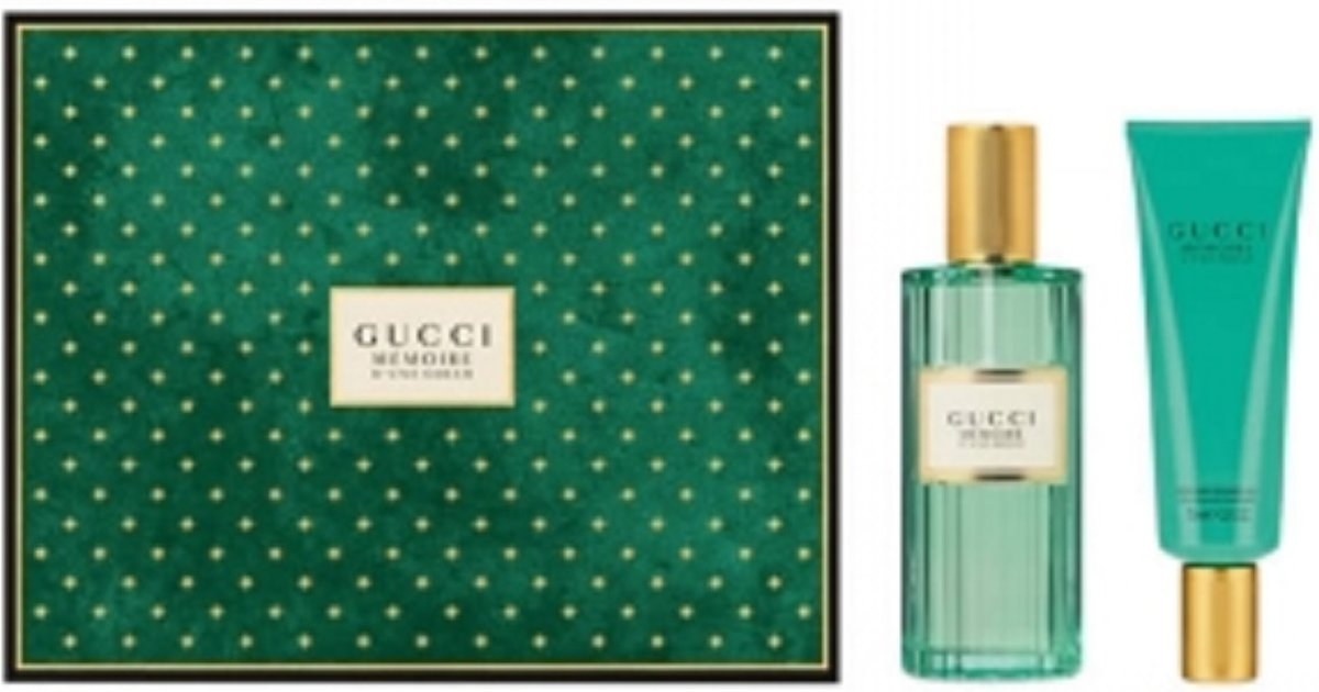 Gucci Memoire Dune Odeur EDP 100ml + Showergel 75ml set