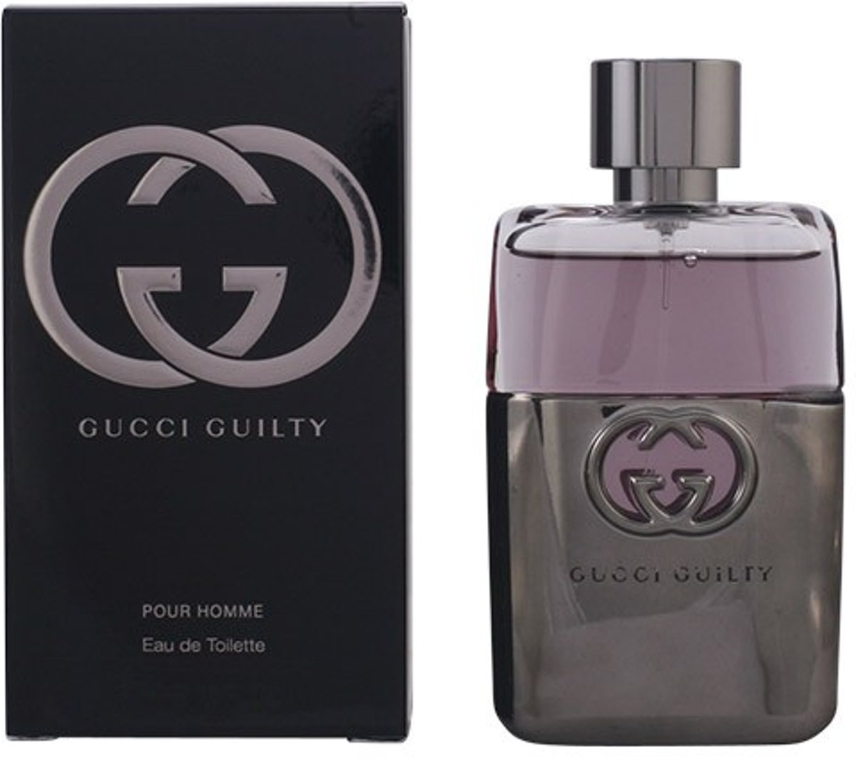 MULTI BUNDEL 2 stuks GUCCI GUILTY POUR HOMME Eau de Toilette Spray 50 ml
