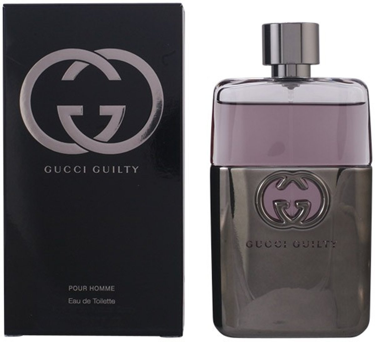 MULTI BUNDEL 3 stuks GUCCI GUILTY POUR HOMME Eau de Toilette Spray 90 ml