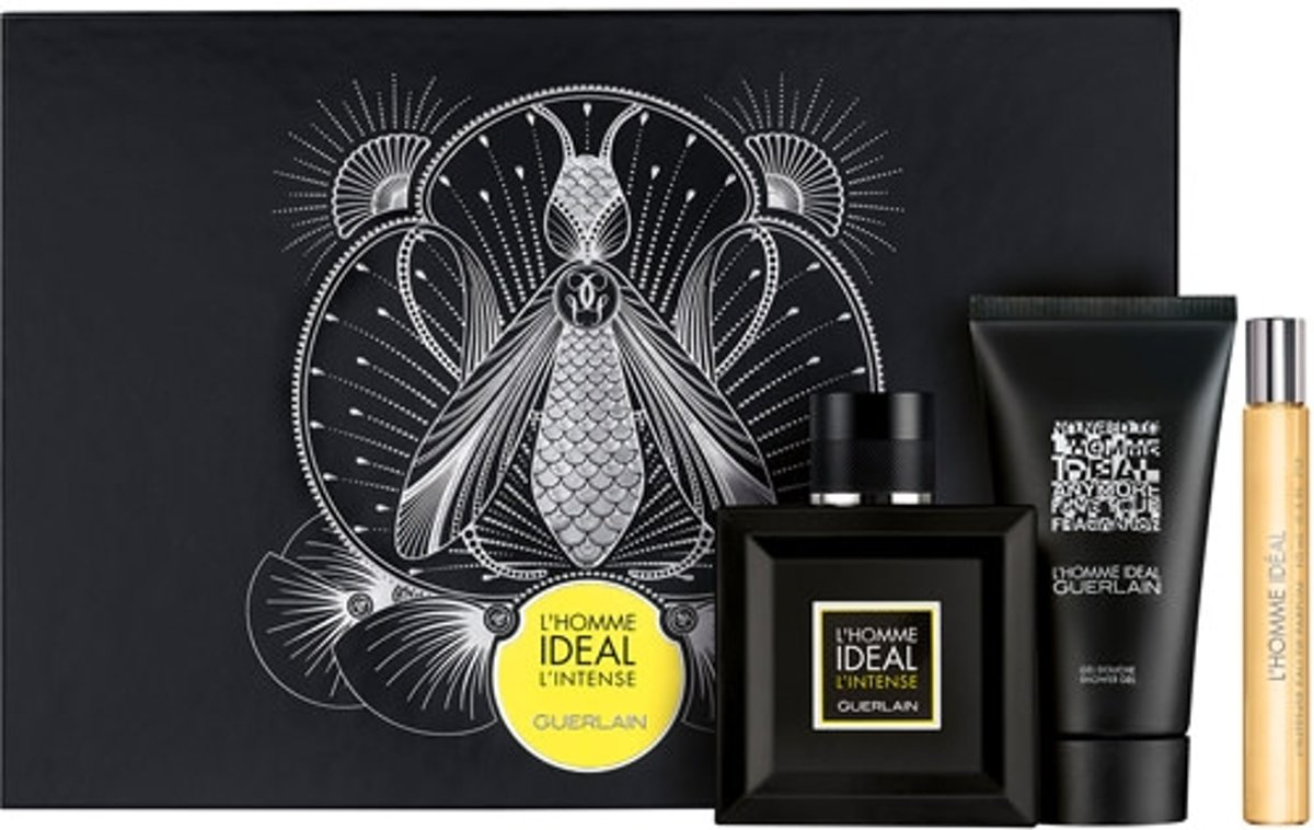 Ghd Guerlain LHomme Ideal Eau De Perfume Spray 100ml Set 3 Pieces 2018