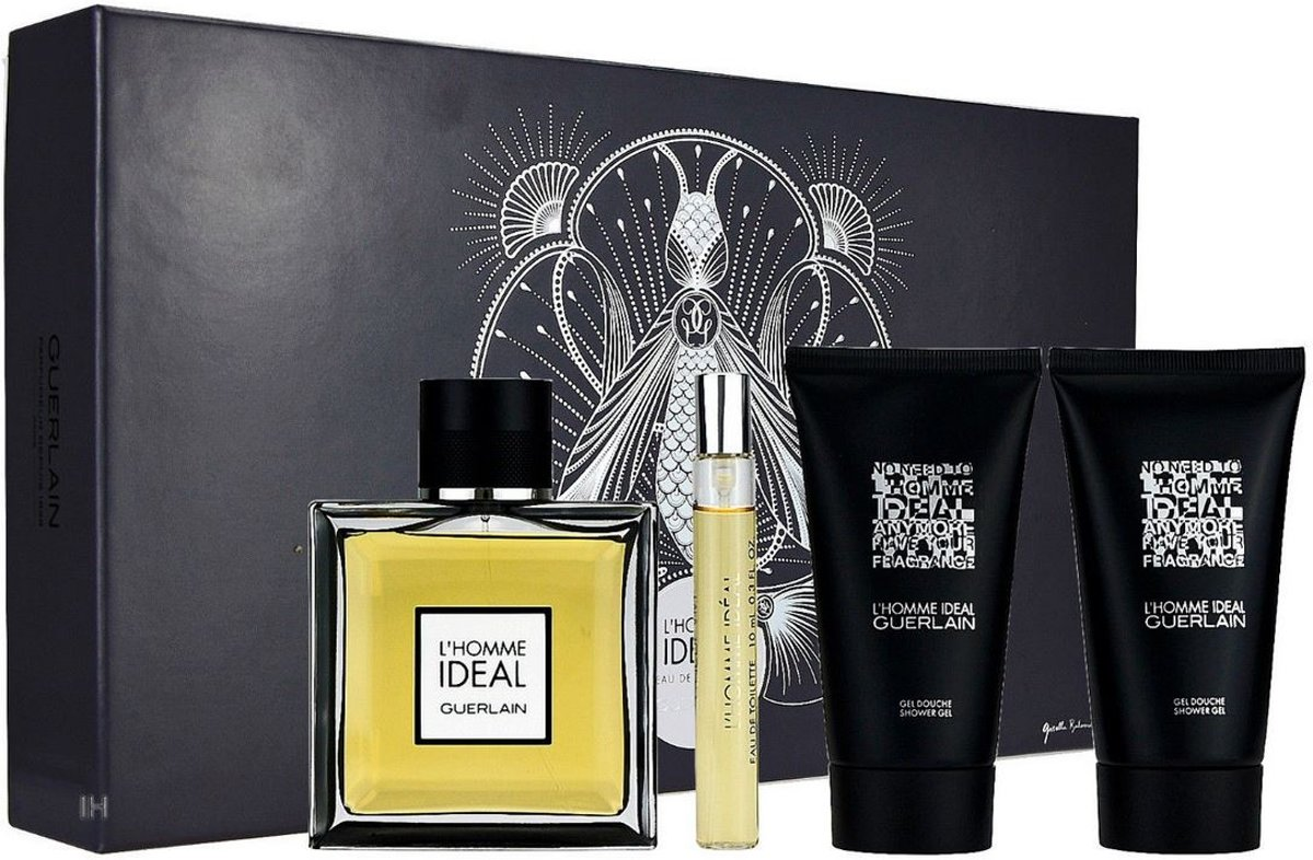 Guerlain - Eau de toilette - Ideal Lhomme 100ml eau de toilette + 2x 75ml showergel + 10ml eau de toilette - Gifts ml