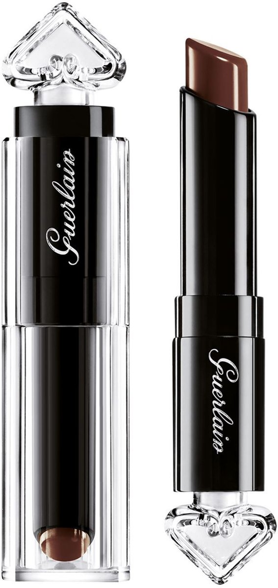 Guerlain - La Petite Robe Noire Deliciously Shiny Lip Colour - 017 Leather Coffee