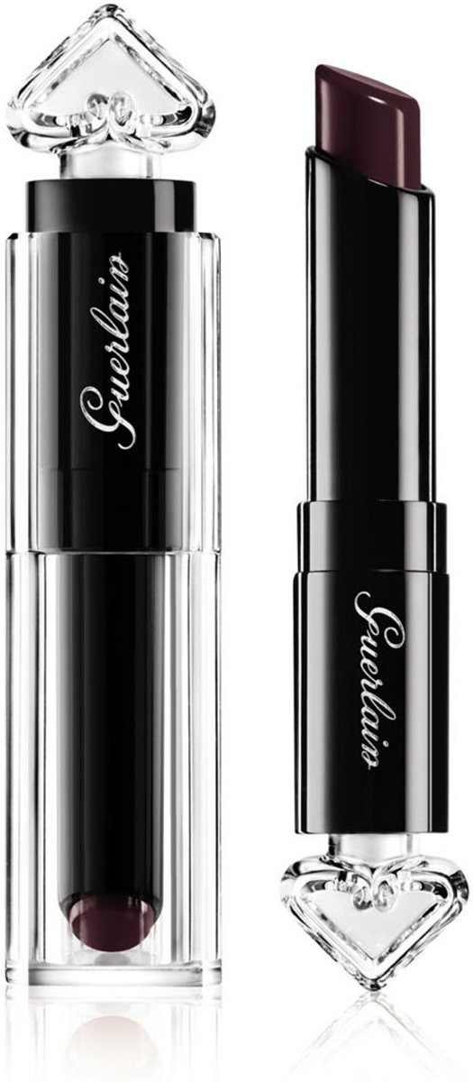 Guerlain - La Petite Robe Noire Deliciously Shiny Lip Colour - 074 Plum Passion