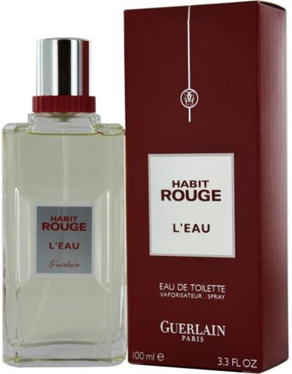 Guerlain Habit Rouge Leau Men EDT 100 ml