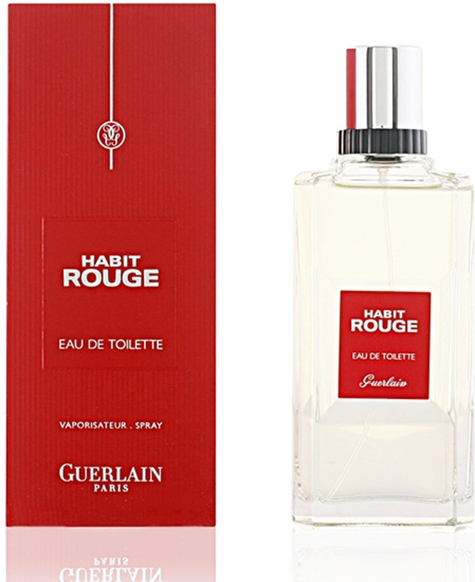 Guerlain Habit Rouge Men - 50 ml - Eau de toilette