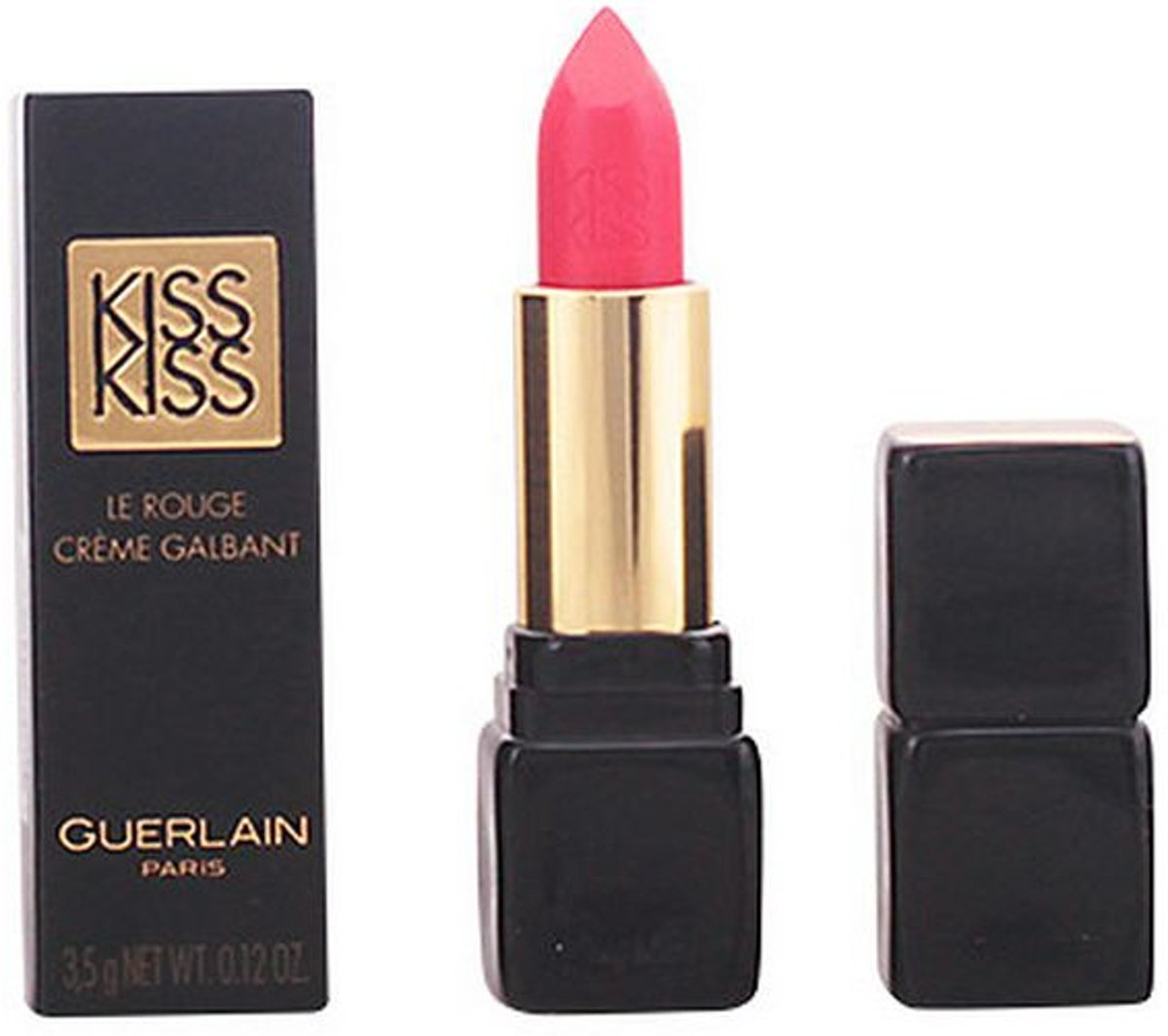 Guerlain Kiss Kiss Creamy Shaping Lip Colour -372 All About Pink - Lipstick