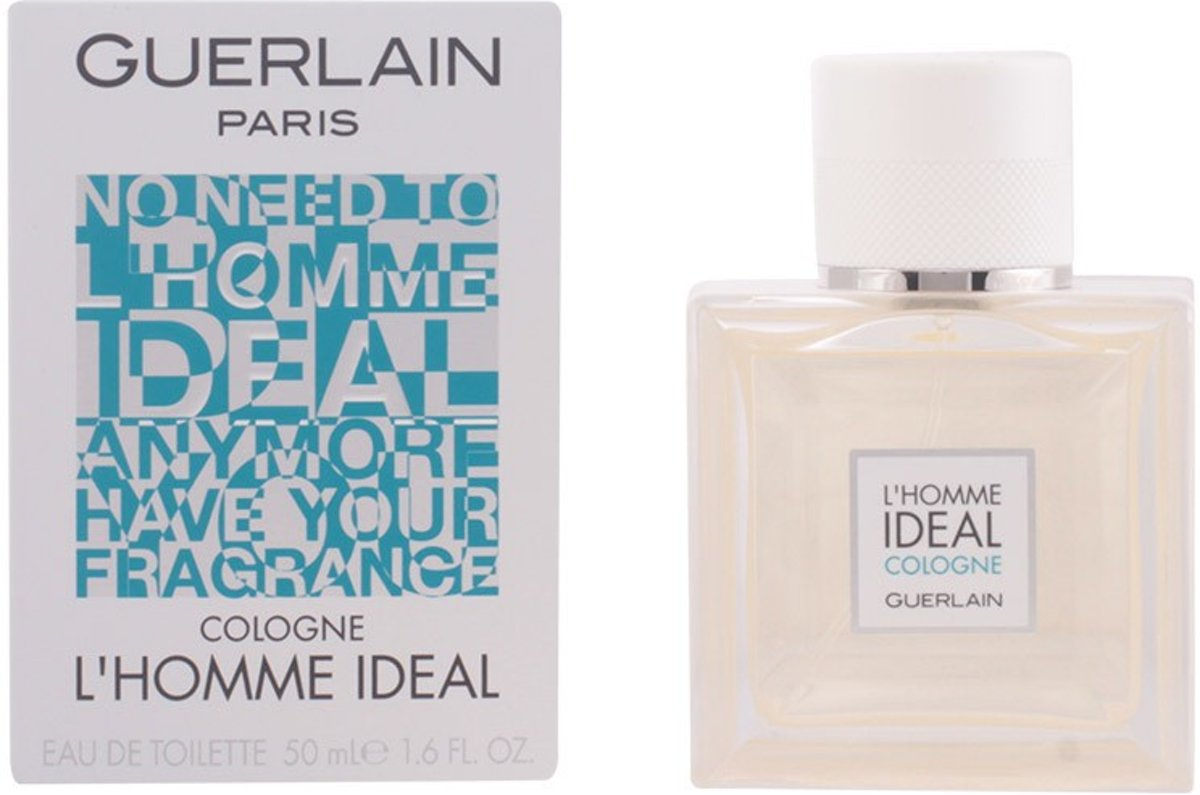 MULTI BUNDEL 2 stuks - Guerlain - LHOMME IDEAL - eau de cologne - spray 50 ml