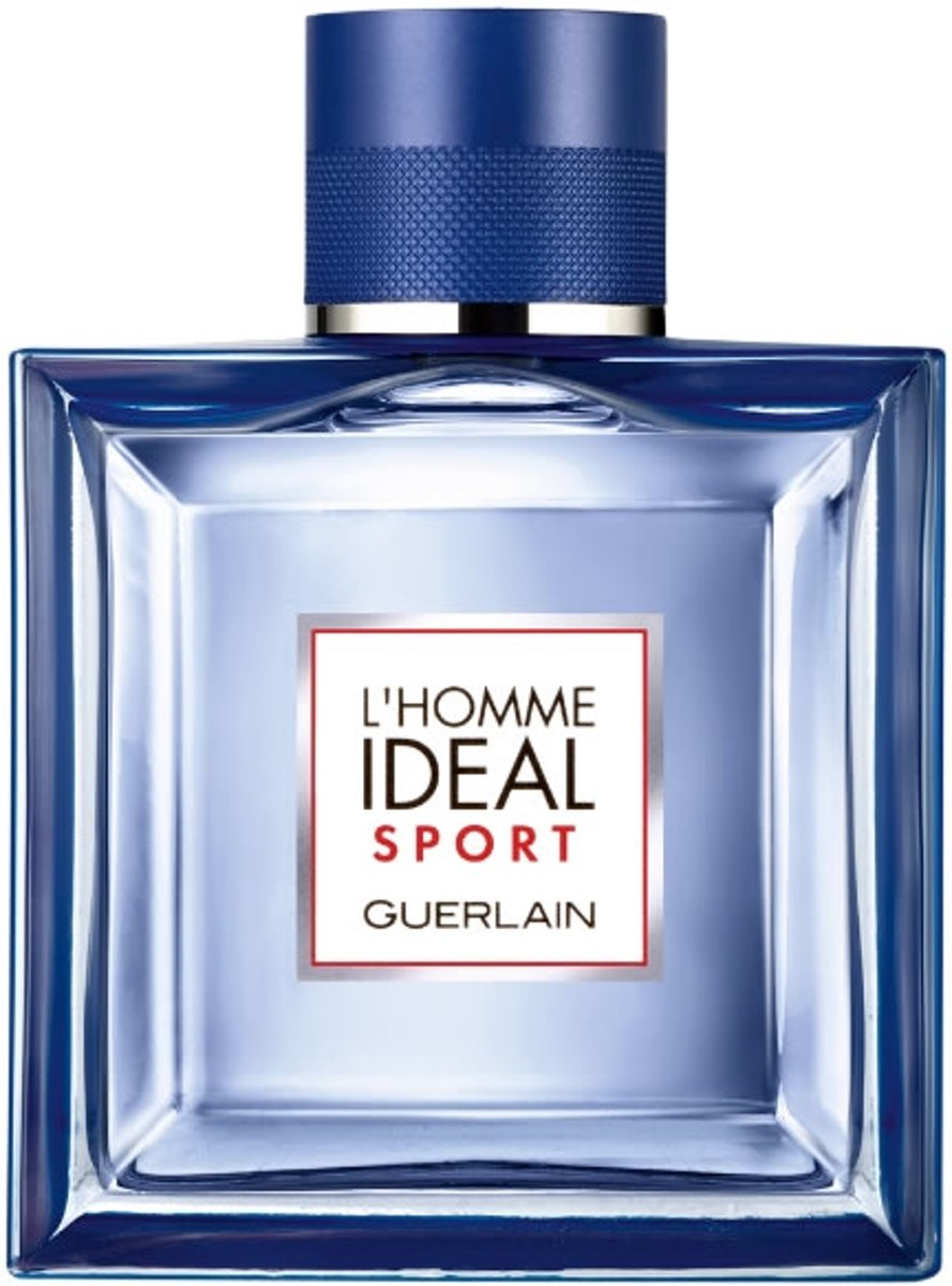 MULTI BUNDEL 2 stuks Guerlain L`Homme Ideal Sport Eau De Toilette Spray 100ml