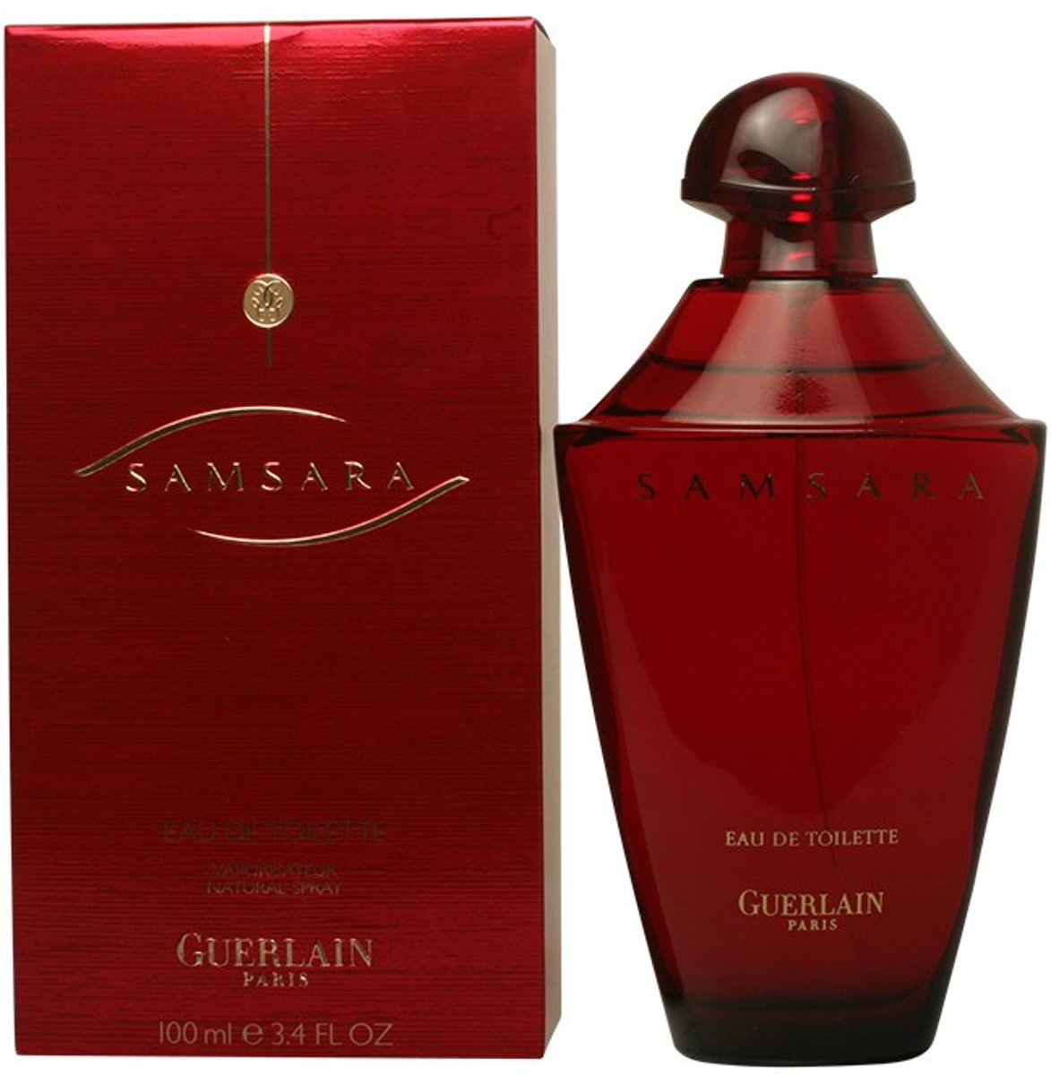 MULTI BUNDEL 2 stuks SAMSARA Eau de Toilette Spray 100 ml