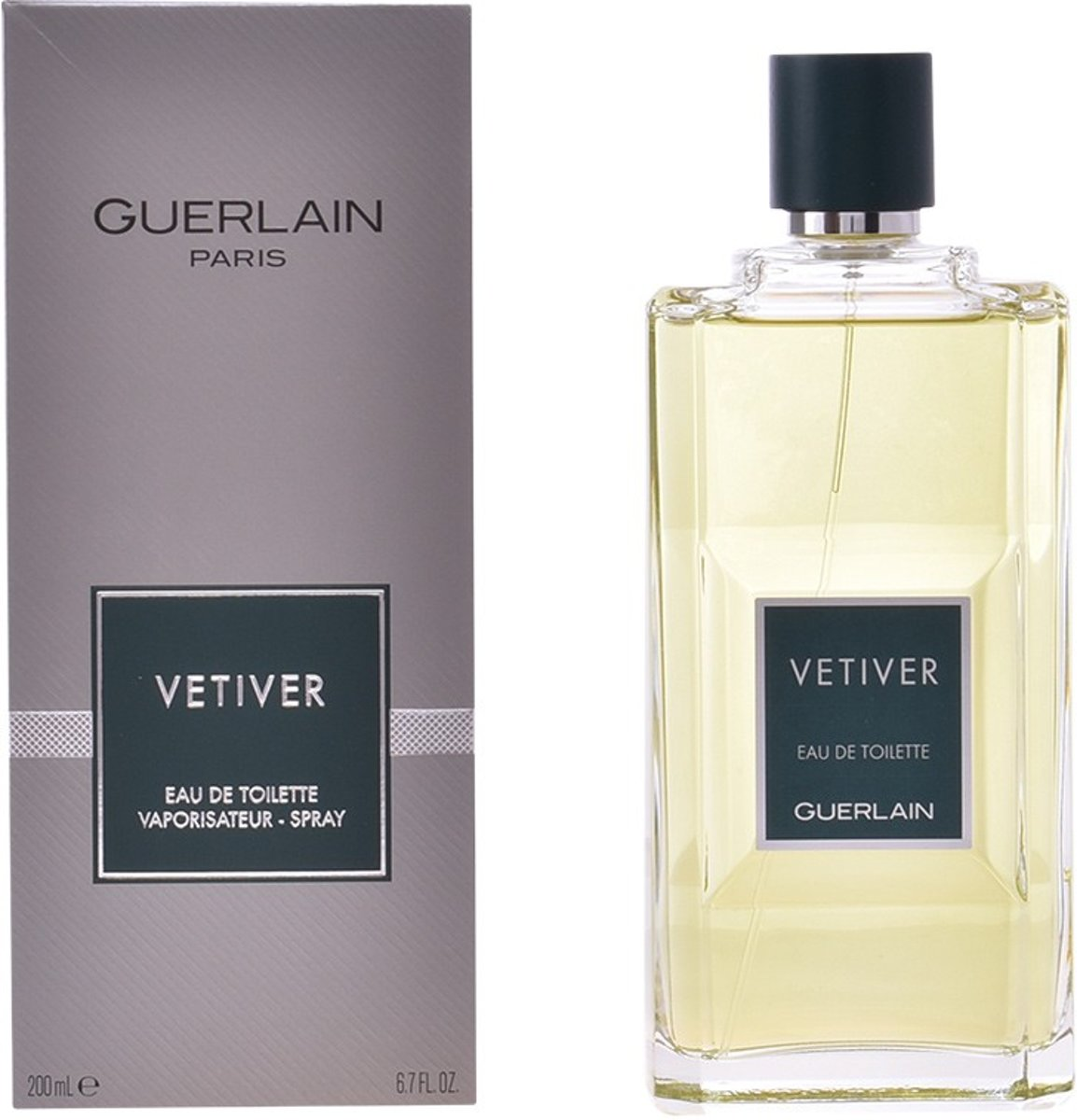MULTI BUNDEL 2 stuks VETIVER Eau de Toilette Spray 200 ml