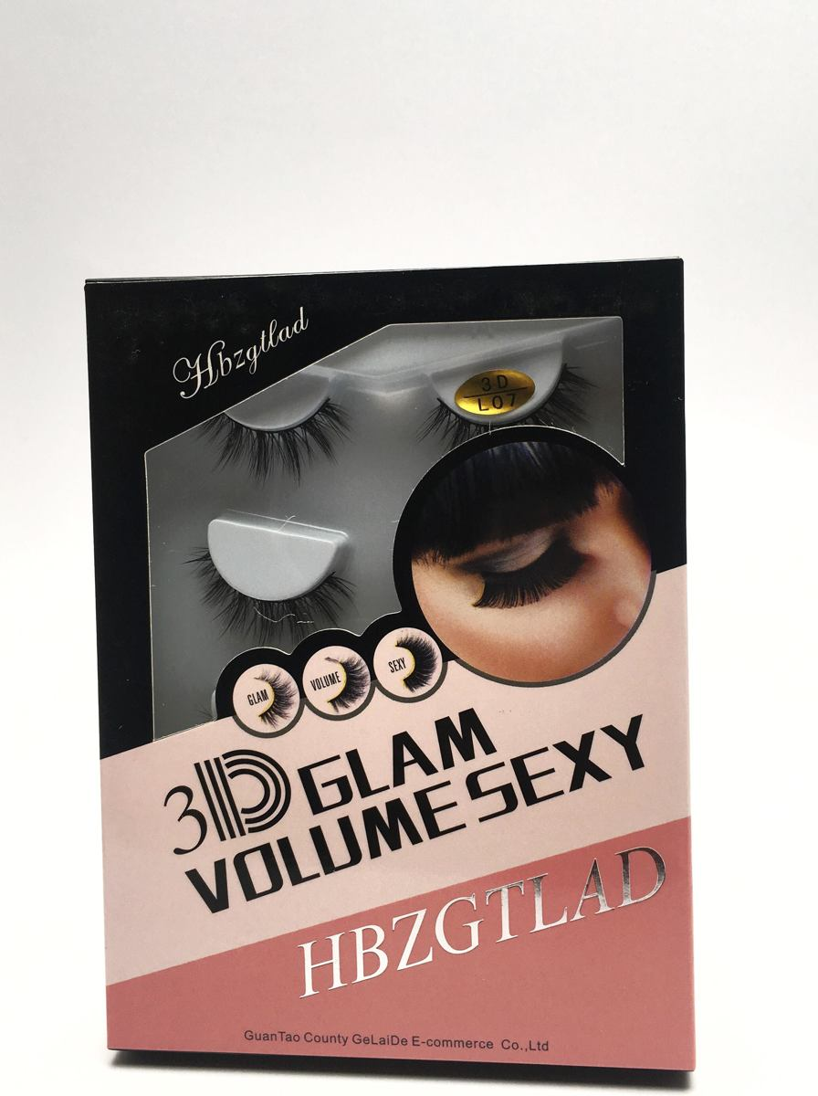 3D Glam Volume sexy Valse wimpers - nepwimpers - 4 paar