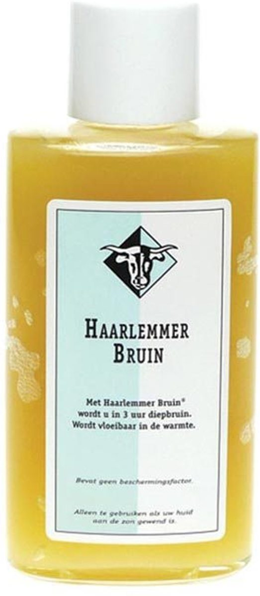 Haarlemmerbruin Zonnebrandlotion -SPF 0 - 150 ml