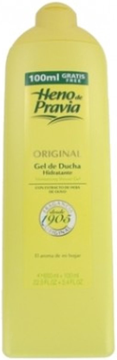 Heno de Pravia Douchegel Original 750ml 3