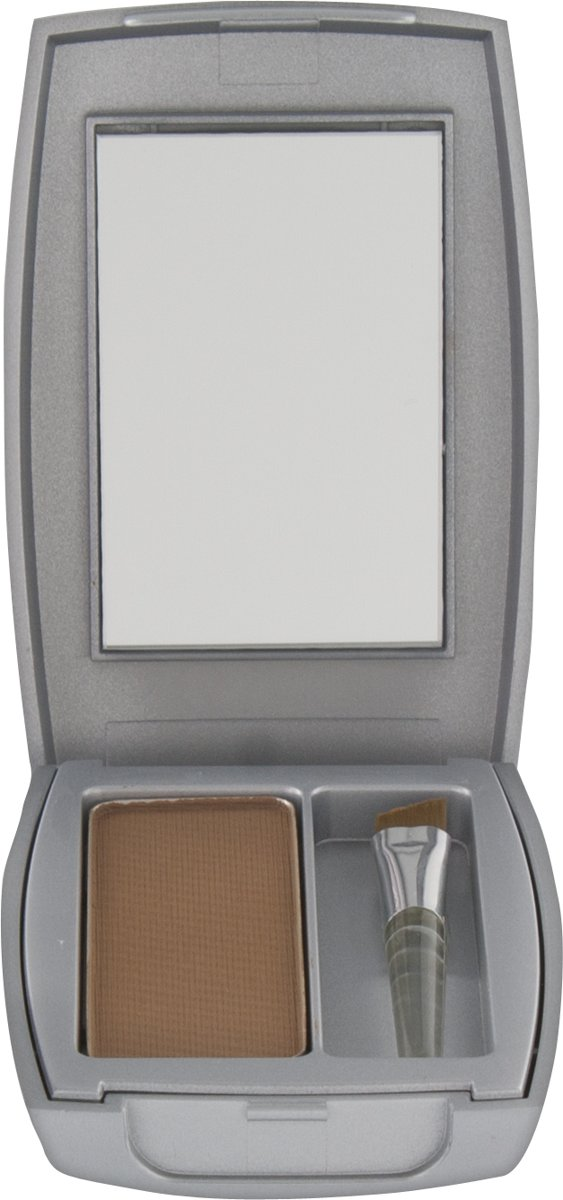 Herôme Eye Care  Compact Powder Medium Brown - 1 st - powder