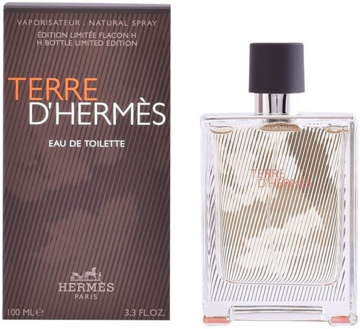 Hermes - Terre DHermes - Bottle Limited Edition - 100 ml Eau de Toilette