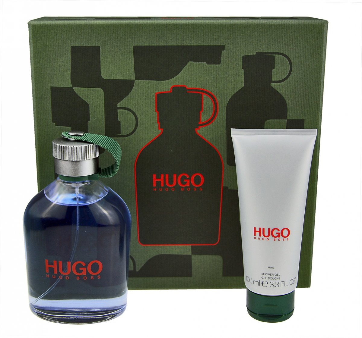 Hugo Boss - Eau de toilette - Hugo 200ml eau de toilette + 100ml showergel - Gifts ml
