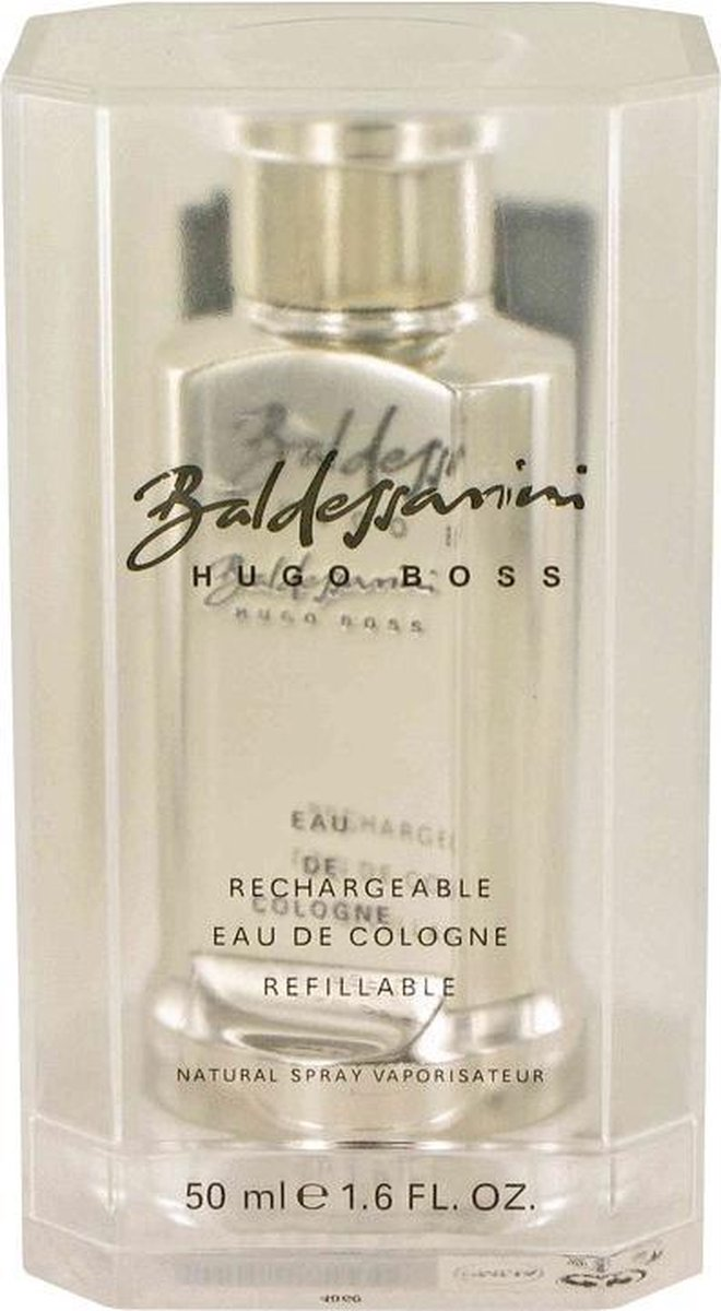 Hugo Boss Baldessarini Metal Refillable Cologne Spray 50 Ml For Men