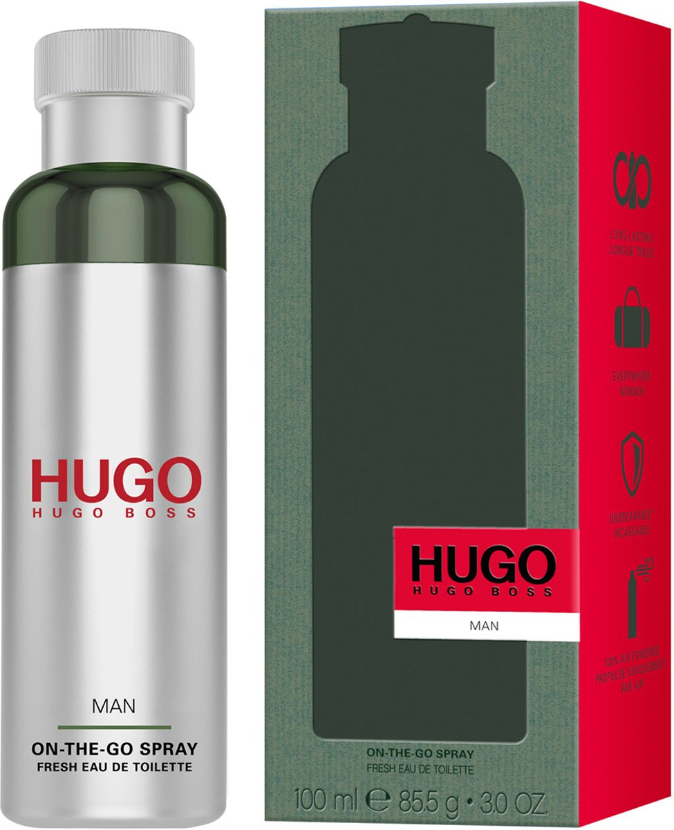 Hugo Boss Hugo Man On-The-Go 100ml Fresh EDT Spray