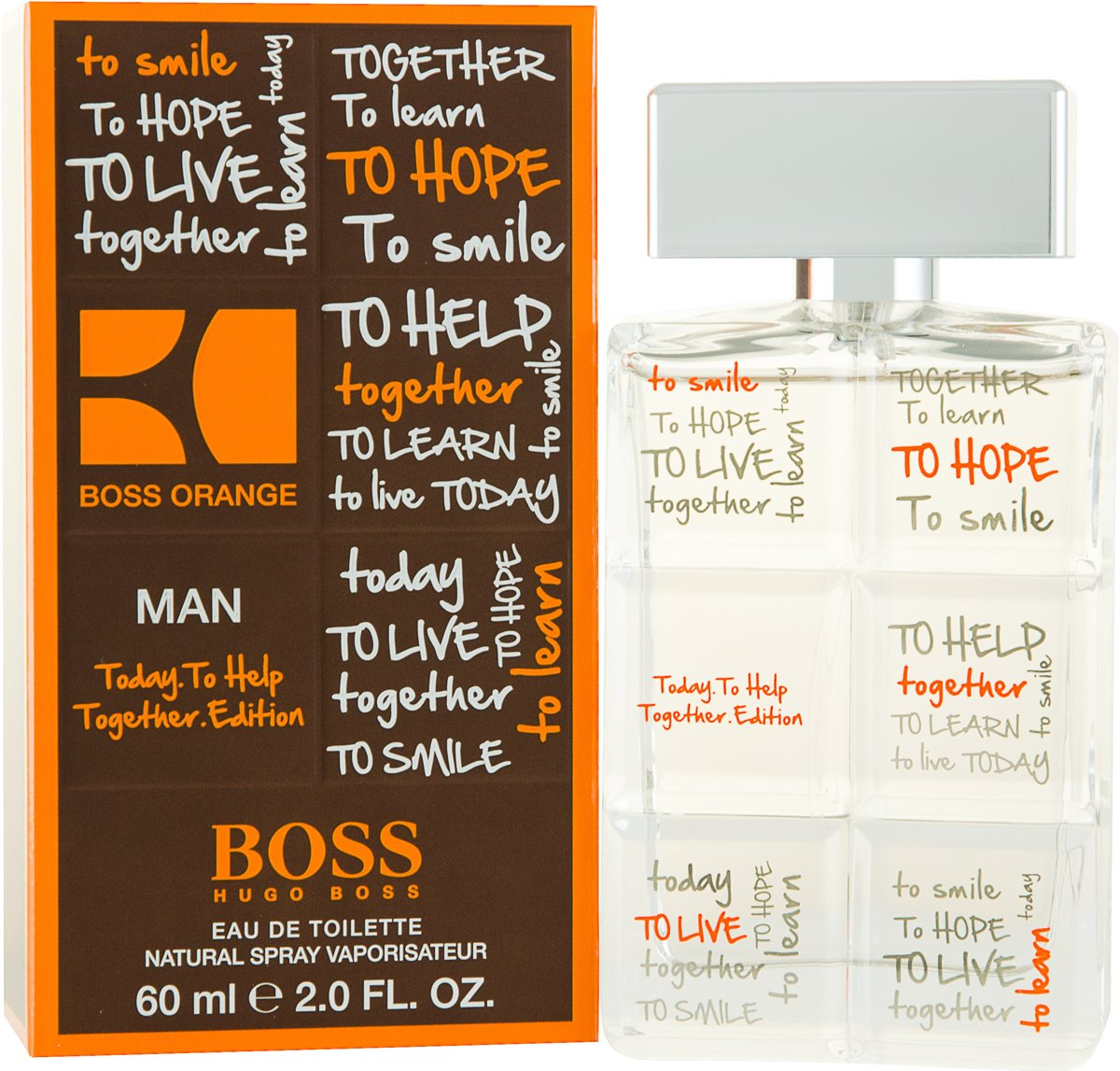 Hugo Boss Orange Limited Edition for Men - 60 ml - Eau de toilette