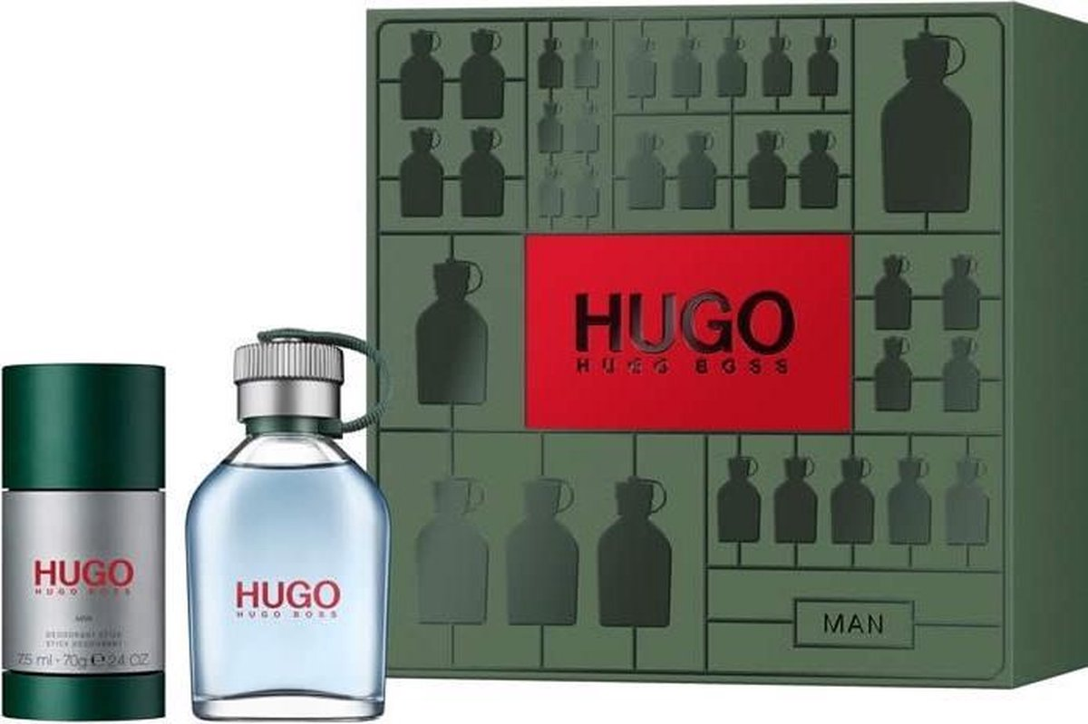 Hugo Eau De Toilette Spray 75ml Set 2 Pieces 2019