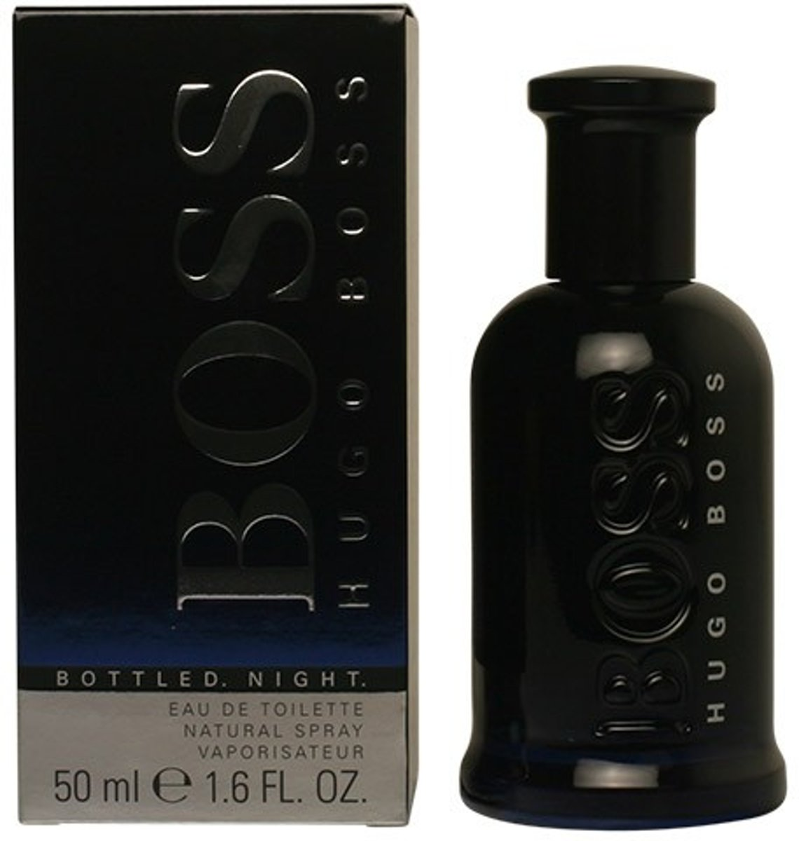 MULTI BUNDEL 2 stuks BOSS BOTTLED NIGHT Eau de Toilette Spray 50 ml