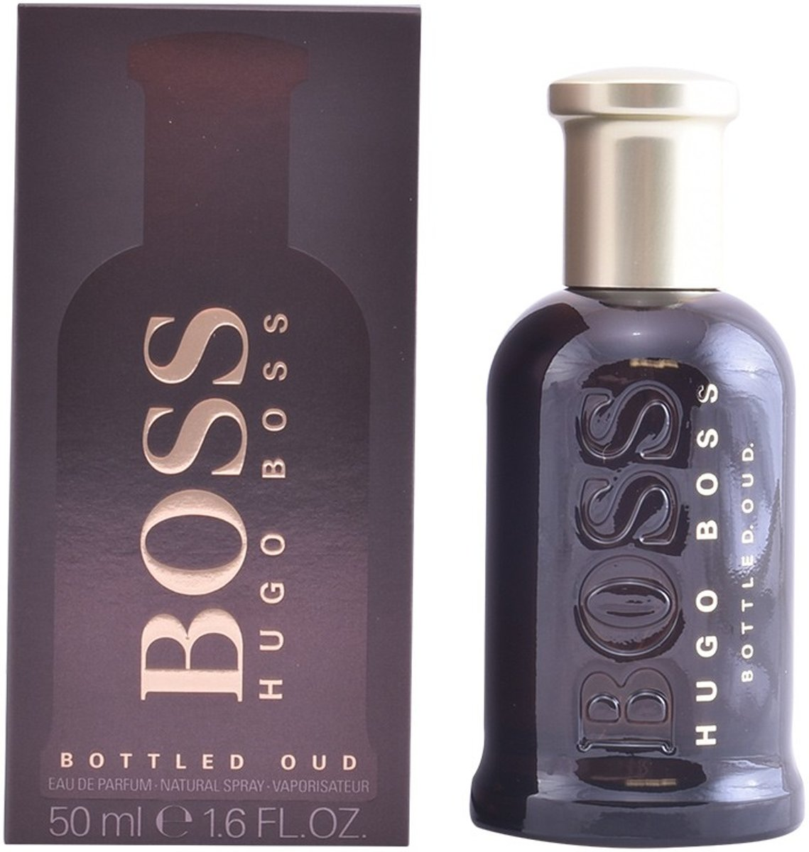 MULTI BUNDEL 2 stuks BOSS BOTTLED OUD Eau de Perfume Spray 50 ml