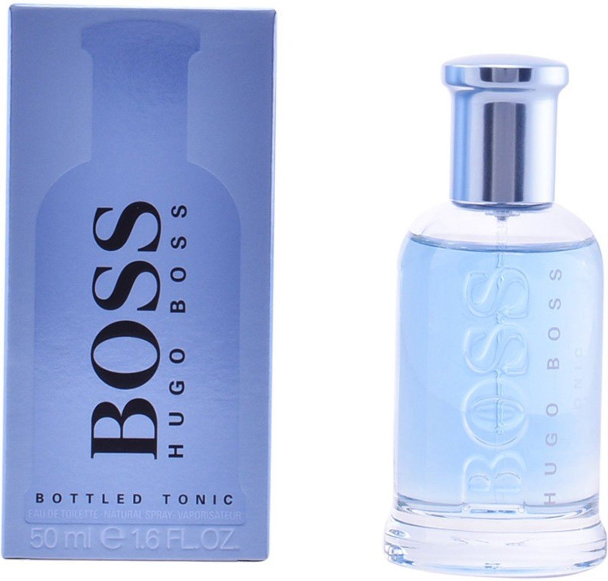 MULTI BUNDEL 2 stuks BOSS BOTTLED TONIC Eau de Toilette Spray 50 ml