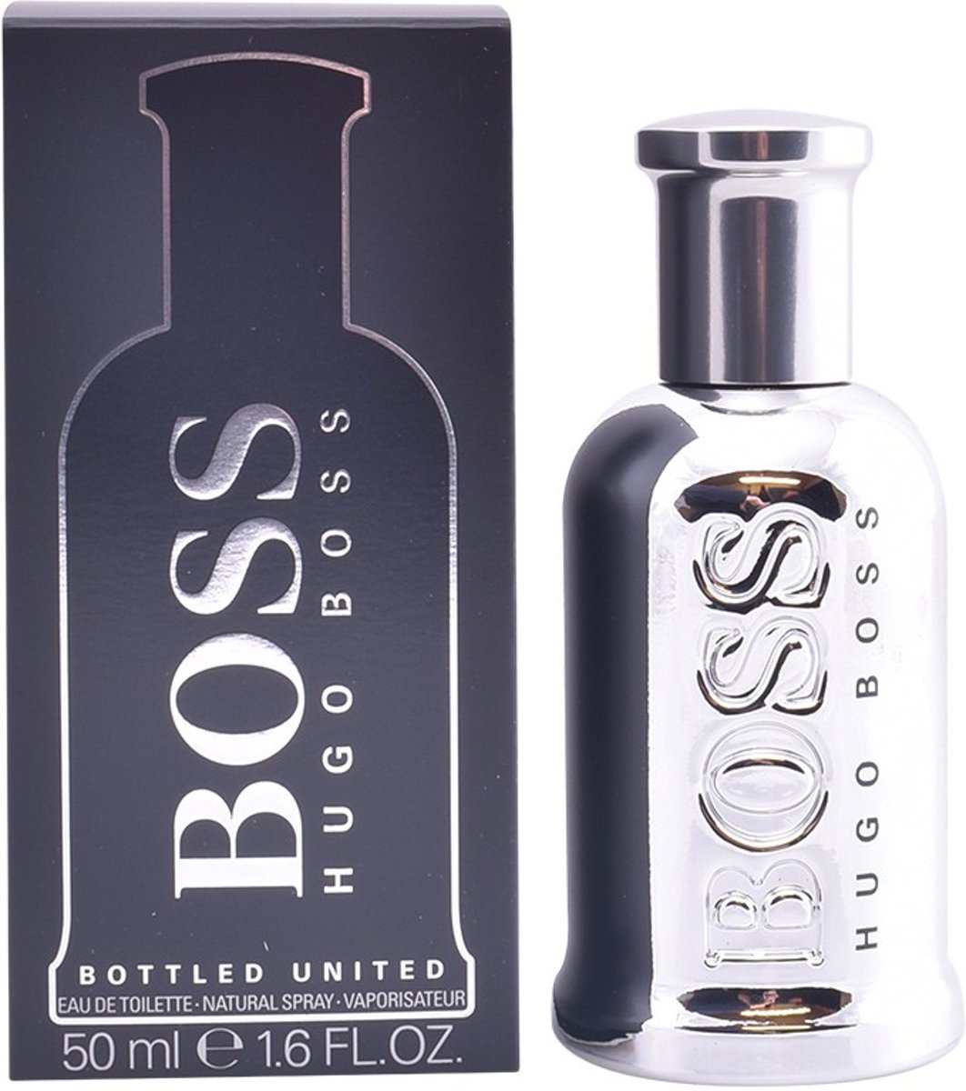 MULTI BUNDEL 2 stuks BOSS BOTTLED UNITED Eau de Toilette Spray 50 ml