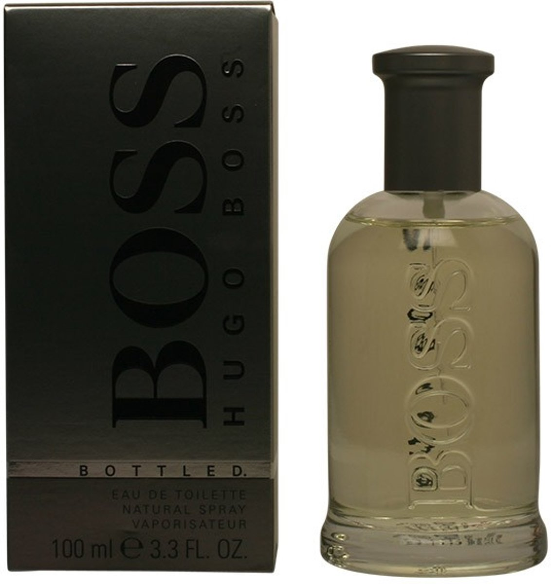 MULTI BUNDEL 2 stuks BOSS BOTTLED eau de toilette spray 100 ml