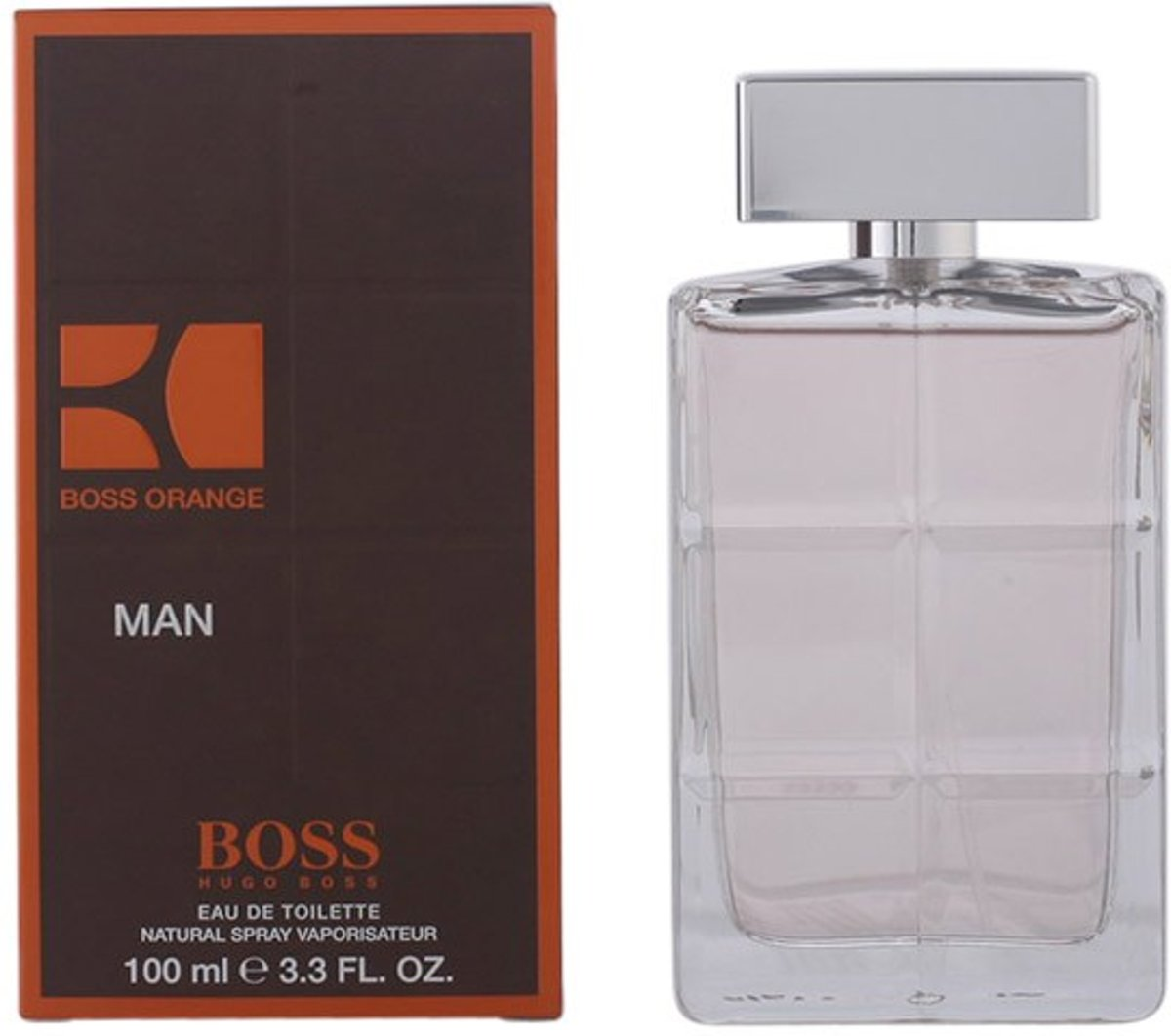 MULTI BUNDEL 2 stuks BOSS ORANGE MAN Eau de Toilette Spray 100 ml