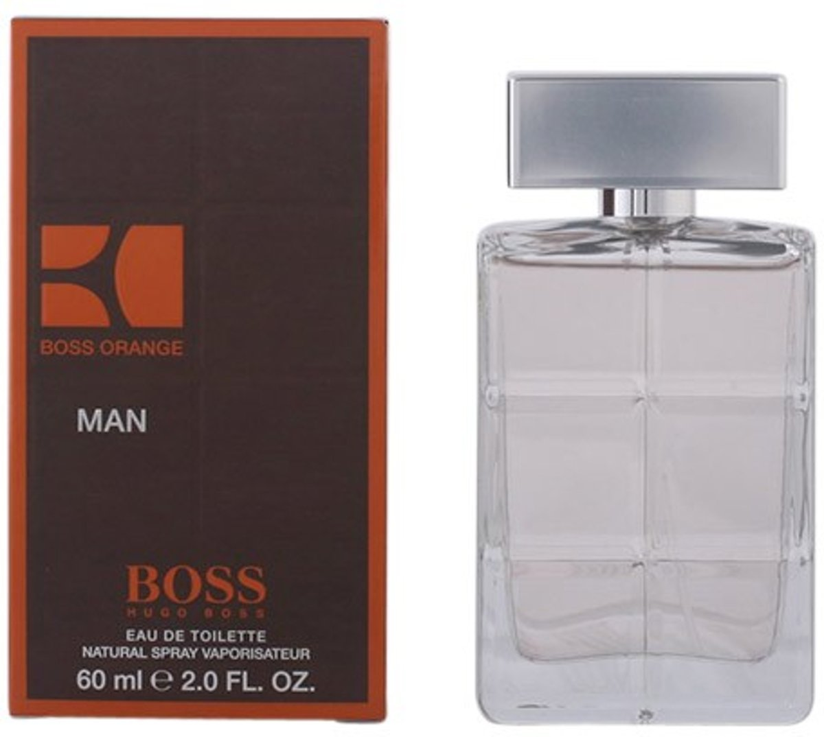 MULTI BUNDEL 2 stuks BOSS ORANGE MAN Eau de Toilette Spray 60 ml