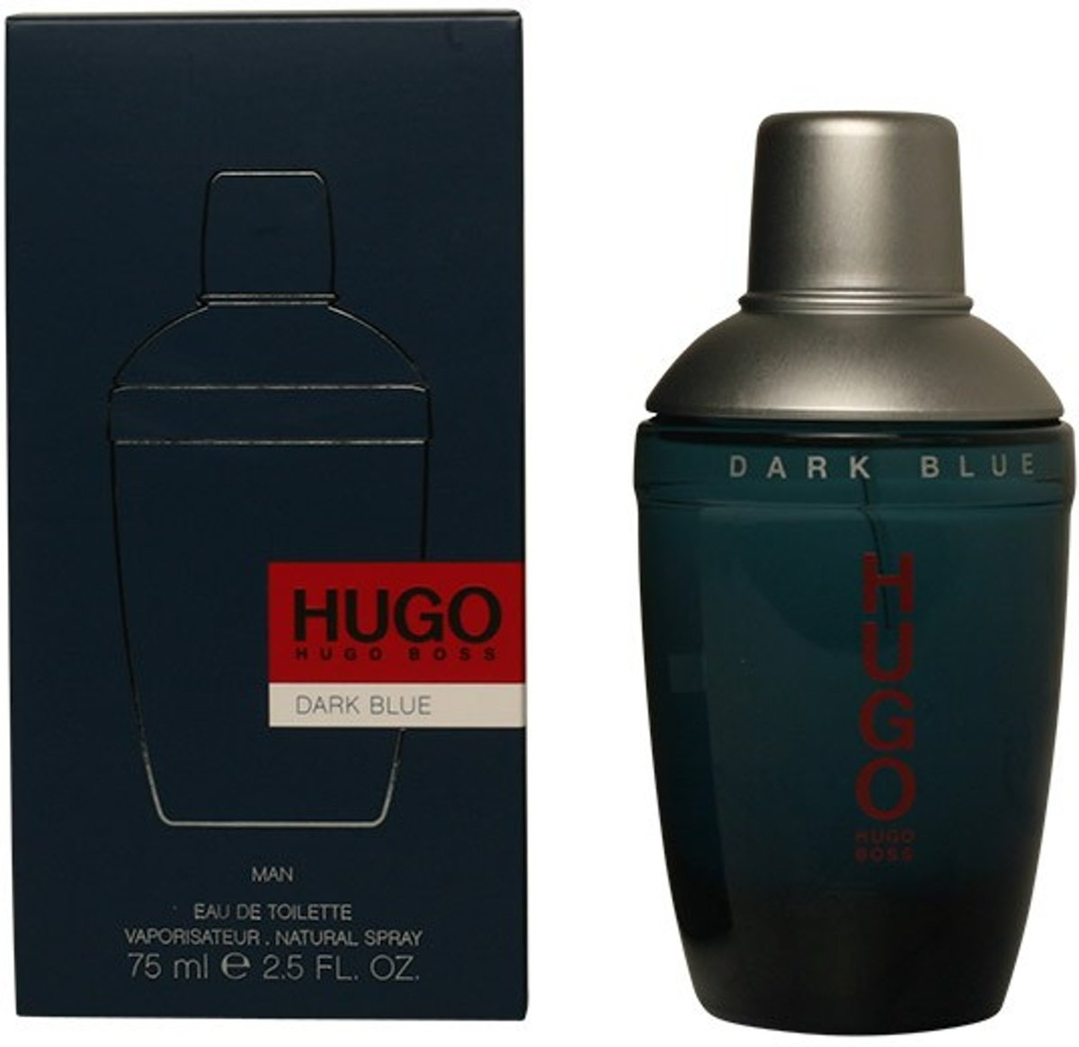 MULTI BUNDEL 2 stuks DARK BLUE eau de toilette spray 75 ml