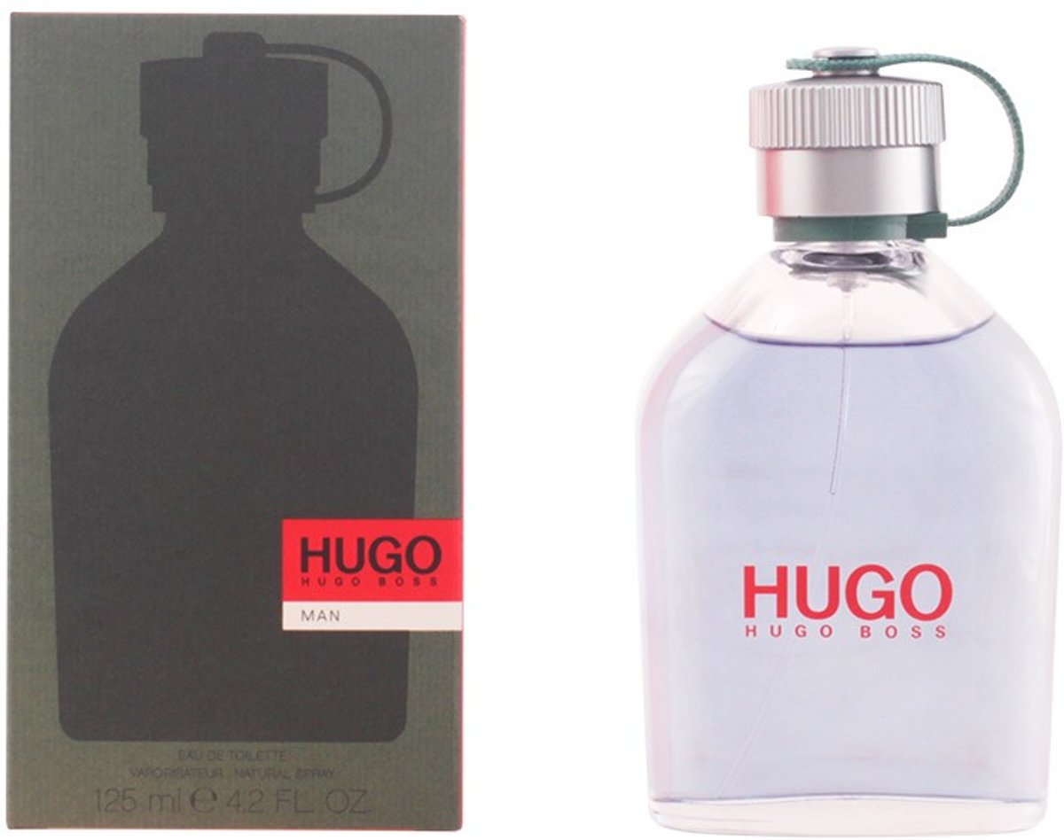 MULTI BUNDEL 2 stuks HUGO Eau de Toilette Spray 125 ml