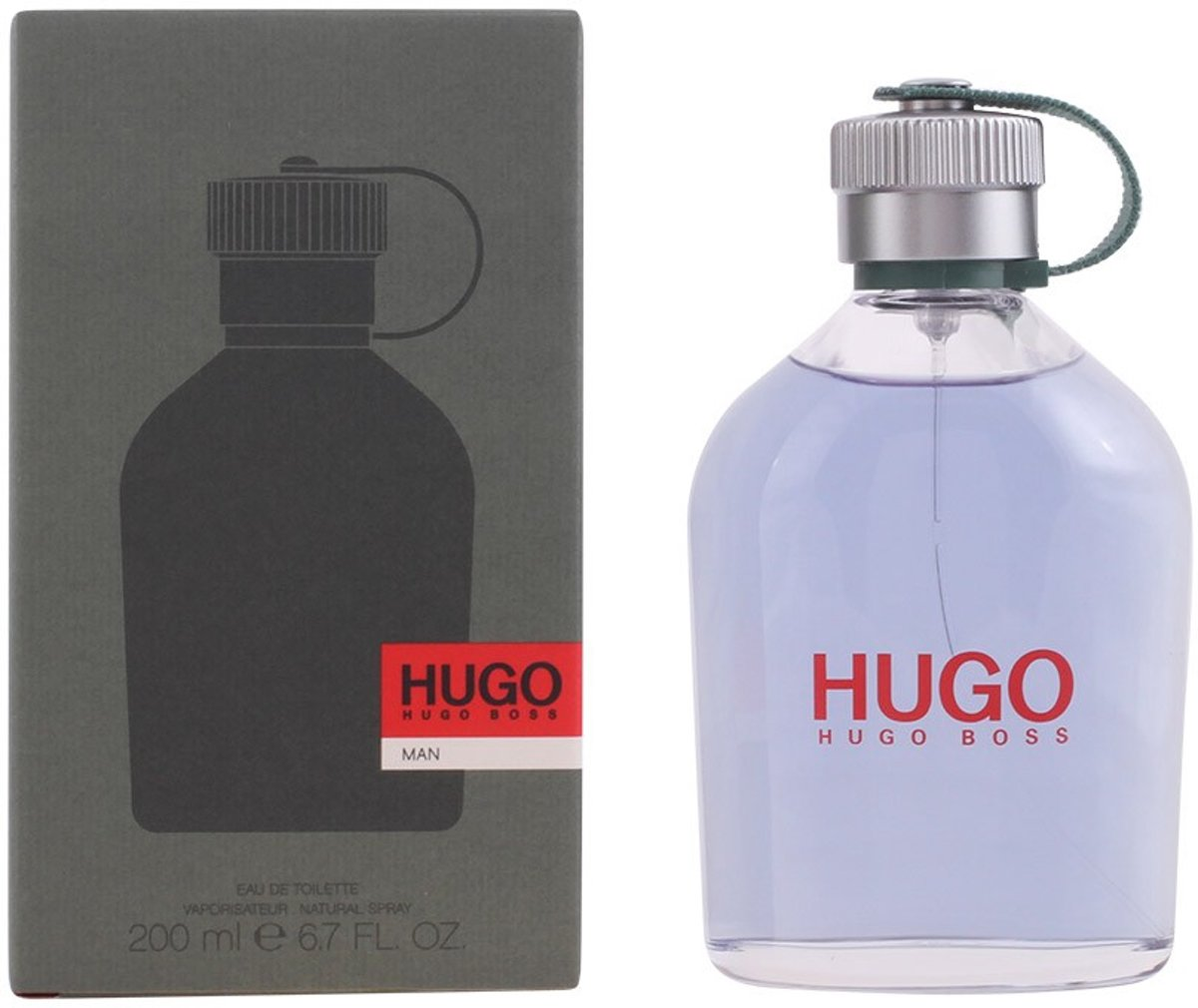 MULTI BUNDEL 2 stuks HUGO eau de toilette spray 200 ml