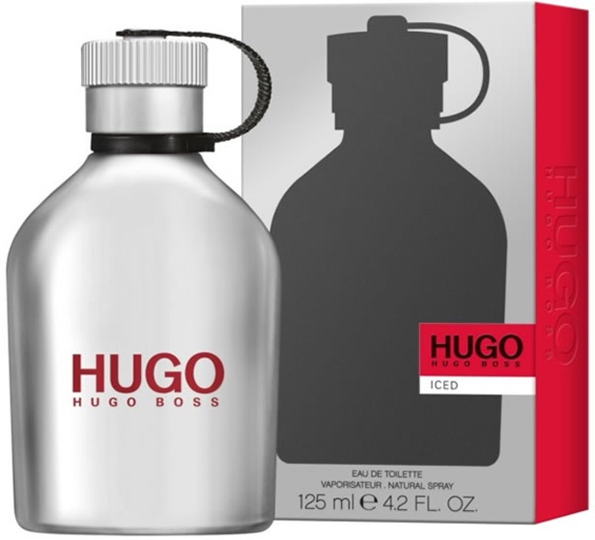 MULTI BUNDEL 2 stuks Hugo Boss Iced Eau De Toilette Spray 125ml