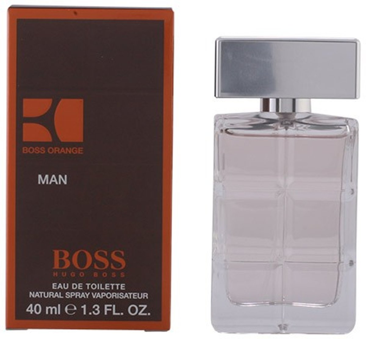MULTI BUNDEL 3 stuks BOSS ORANGE MAN Eau de Toilette Spray 40 ml