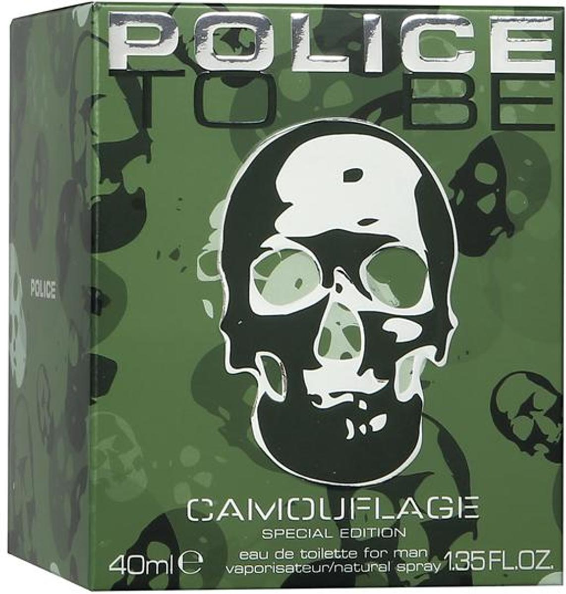 POLICE TO BE CAMOUFLAGE(M)EDT 40ML