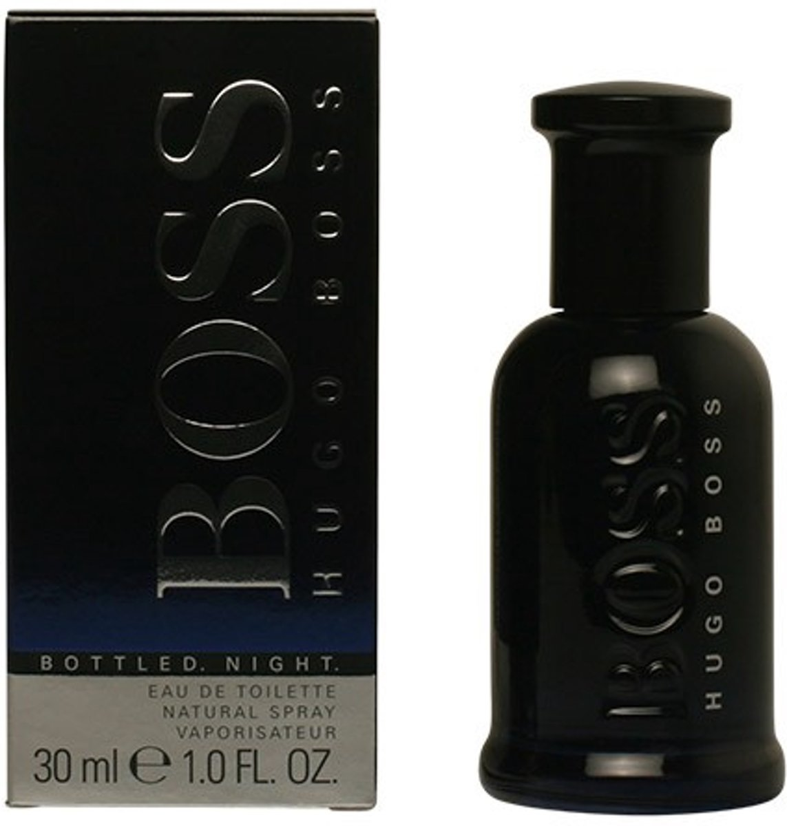 PROMO 2 stuks BOSS BOTTLED NIGHT eau de toilette spray 30 ml