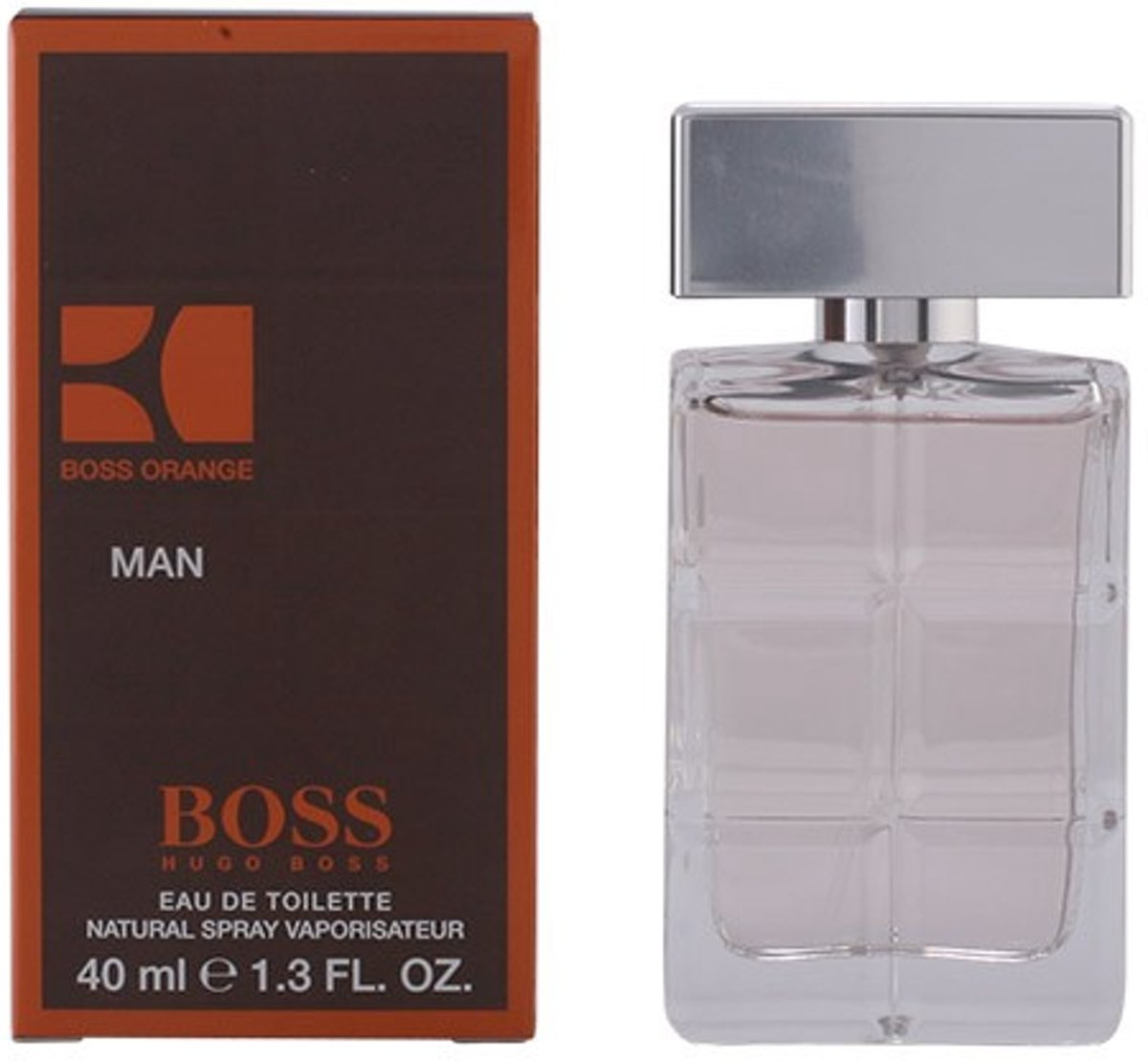 PROMO 2 stuks BOSS ORANGE MAN eau de toilette spray 40 ml