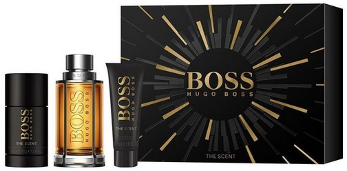 Parfumset voor Heren The Scent Hugo Boss (3 pcs)
