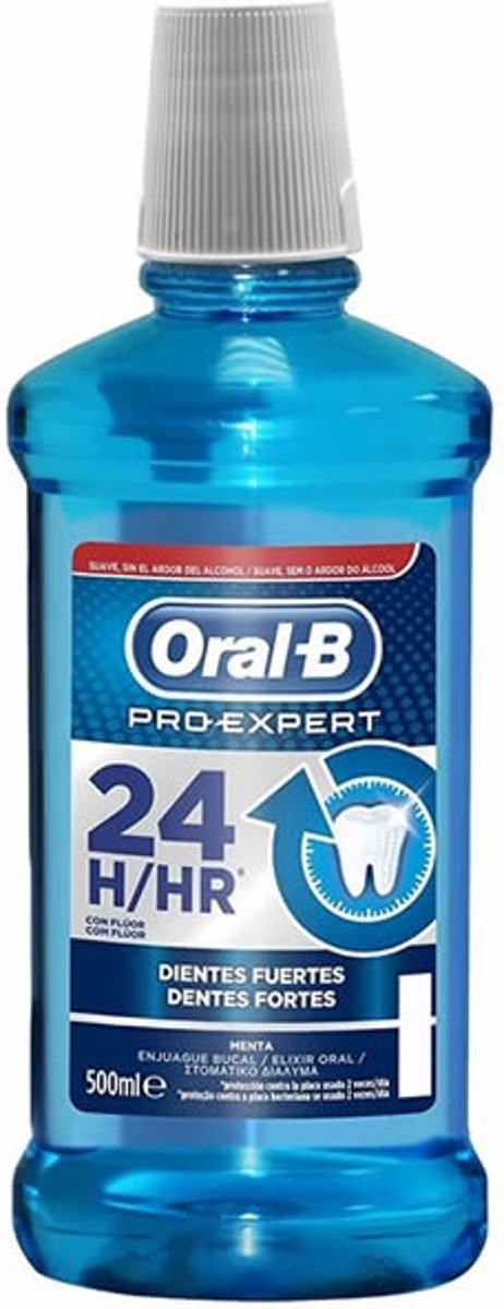Indasec Oral-B Pro-Expert Mouthwash Strong Teeth 500ml