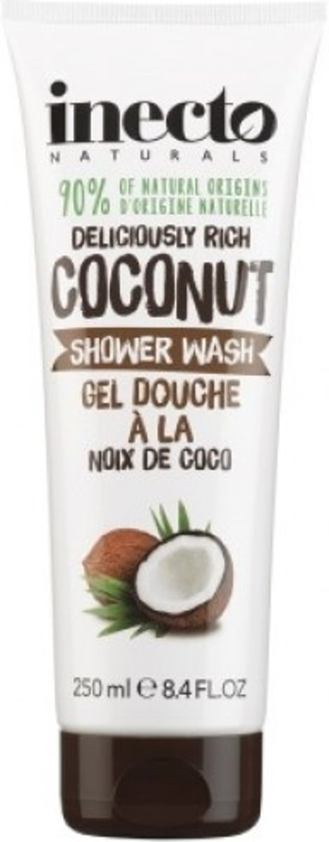 Inecto naturals - Coconut Shower Wash - 250ML