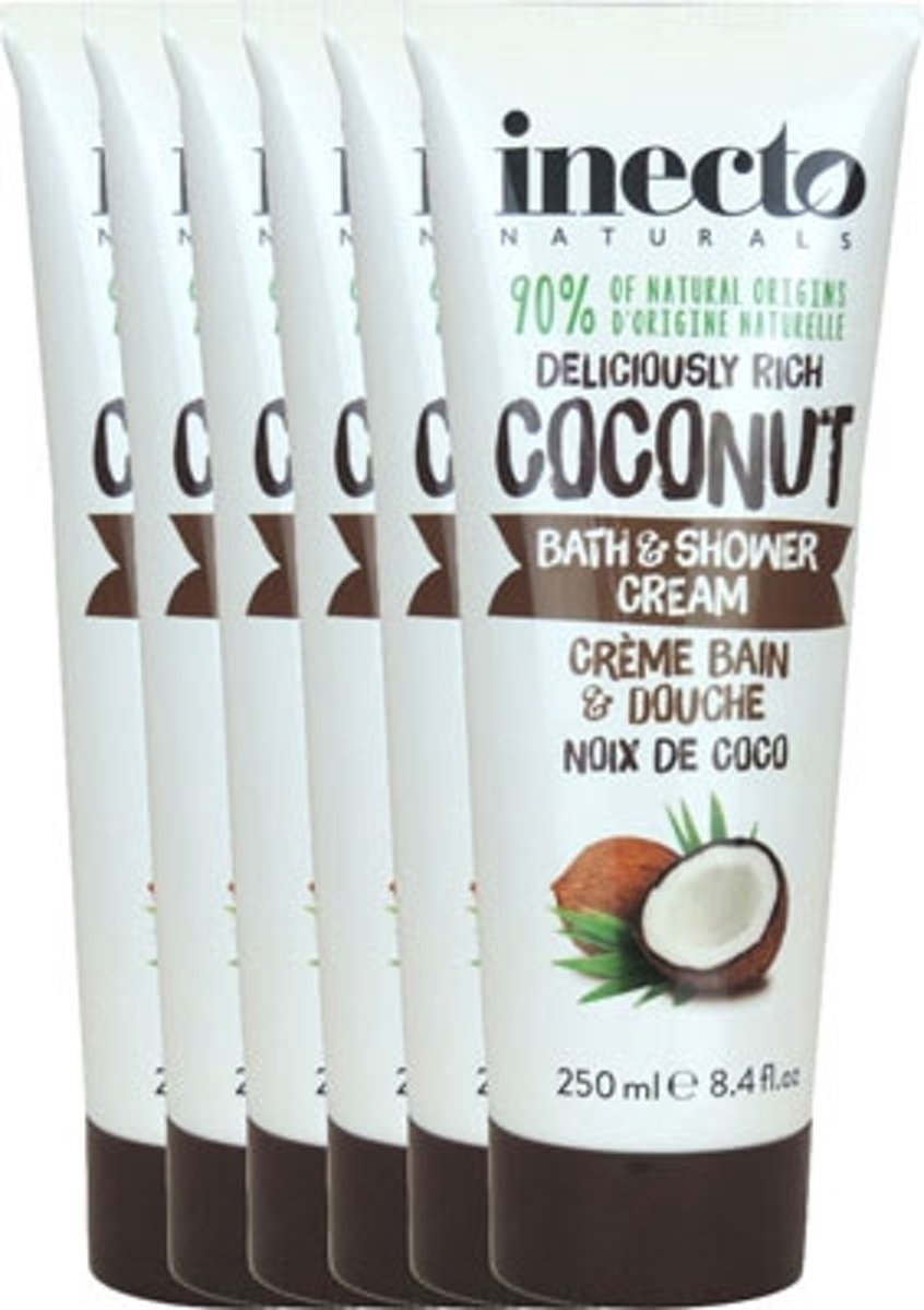 Inecto Naturals Coconut Bad En Shower Cream Voordeelverpakking