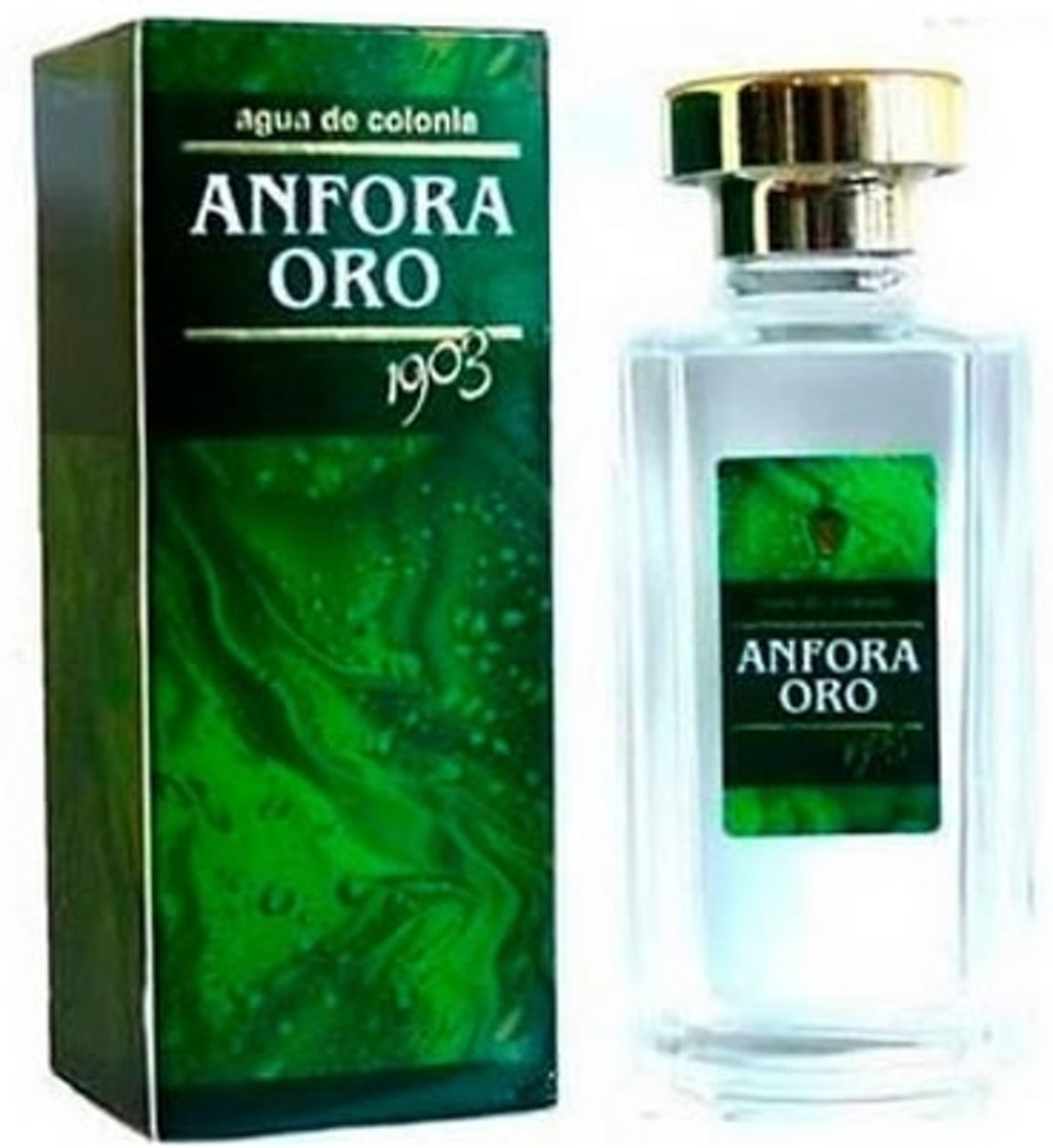 MULTI BUNDEL 2 stuks Instituto Espanol Anfora Oro Eau De Cologne Spray 400ml
