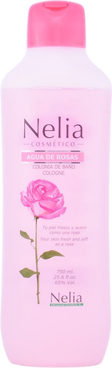 MULTI BUNDEL 5 stuks Instituto Espanol Nelia Agua De Rosas Eau De Cologne 750ml