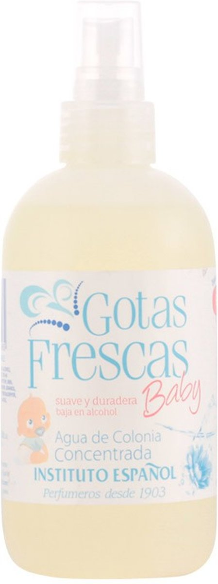 PROMO 2 stuks - Instituto Espanol - GOTAS FRESCAS BABY - eau de cologne - spray 250 ml