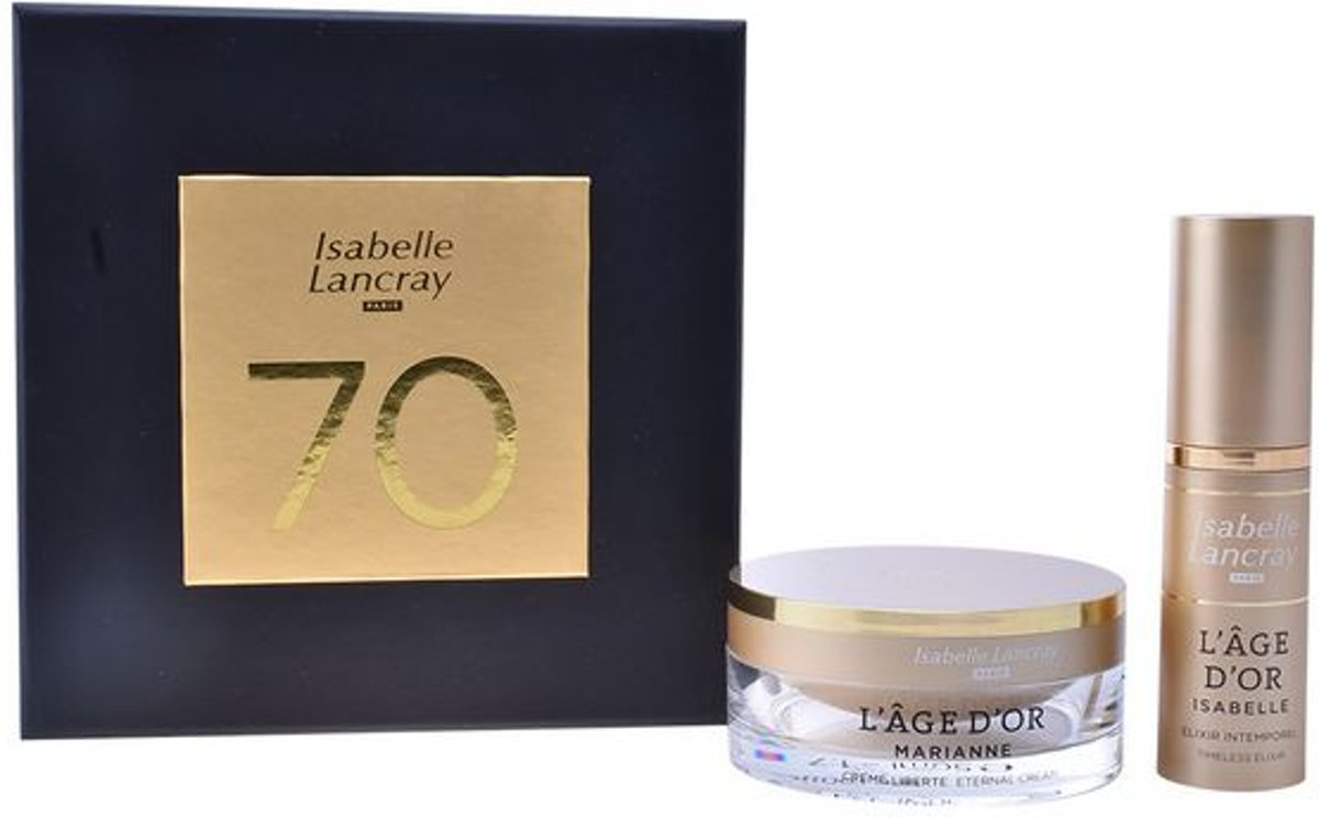 Cosmeticaset voor Dames Lage Dor Isabelle Lancray (2 pcs)